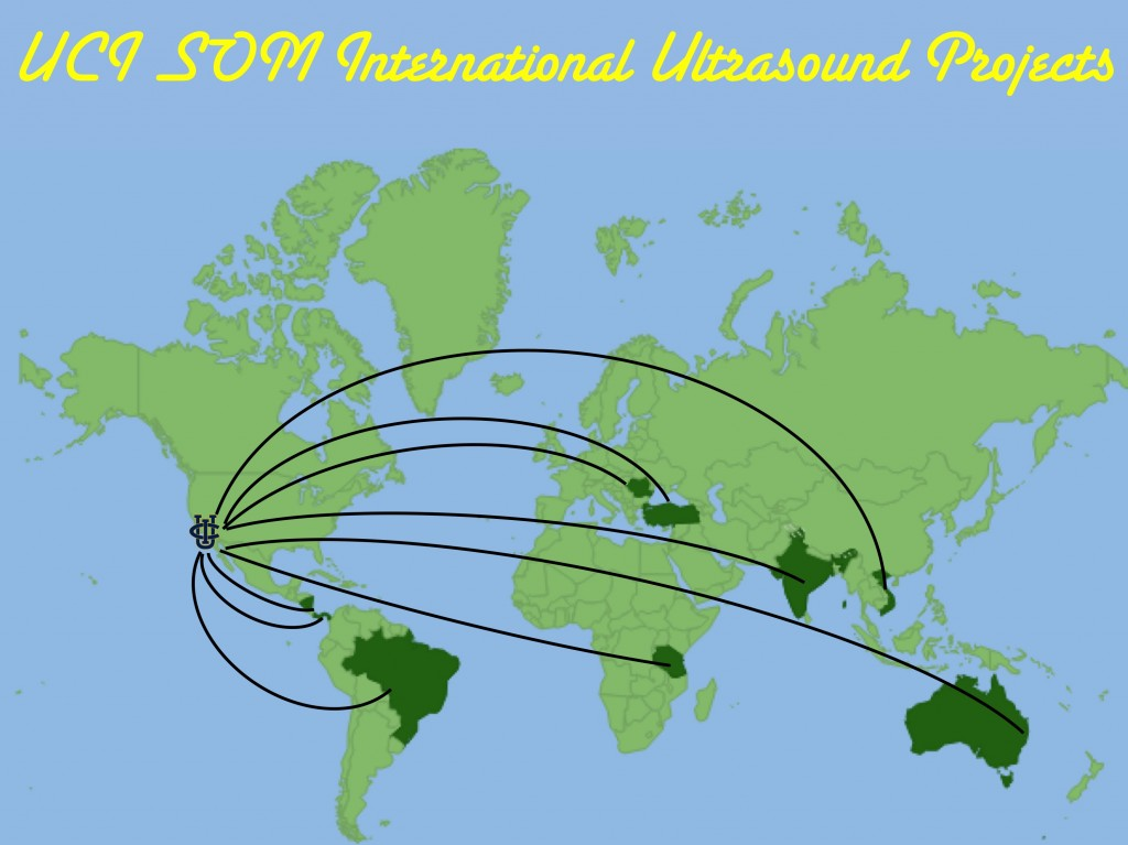 Ultrasound International Map